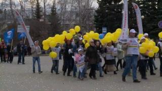 Первомайская демонстрация Федерации профсоюзов Удмуртии. 1 мая 2018 г.