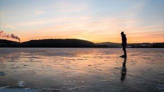 Специалисты рассказали, как определить прочность льда на югорских водоёмах