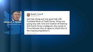Трамп готовится ко встрече с Ким Чен Ыном