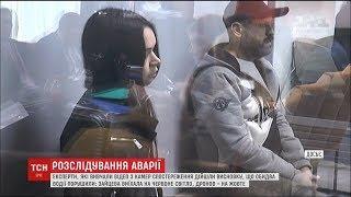 Двоє винуватців смертельної ДТП у Харкові рухались на заборонний сигнал світлофора