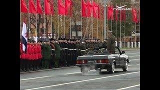 Заключительная репетиция Парада Памяти прошла на площади Куйбышева в Самаре