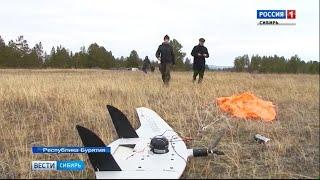 В Бурятии используют беспилотники для наблюдения за лесными пожарами