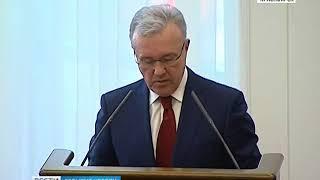 События недели: Александр Усс впервые выступил с ежегодным отчетом перед депутатами Заксобрания