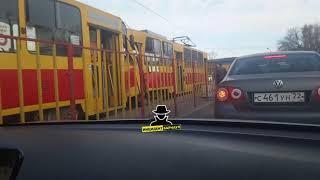 ДТП между трамваями (Инцидент Барнаул)
