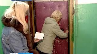 Пока жительница Норильска лечилась в Красноярске, дверь её квартиры успели вскрыть и заварить