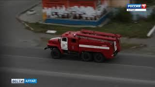 Из-за пожаров спасатели Алтайского края переведены врежим повышенной готовности