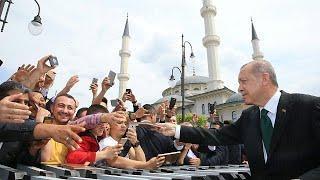 Эрдоган нчинает избирательную кампанию