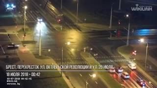 Перекресток Варшавка - 28 июля. ДТП. 18.07.2018. Брест