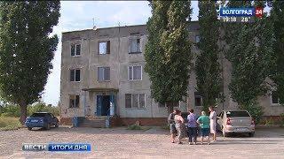 Ливень усугубил состояние аварийного общежития в Волгограде