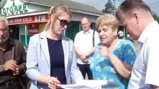 Работе с жалобами граждан посвятил объезд мэр Биробиджана(РИА Биробиджан)