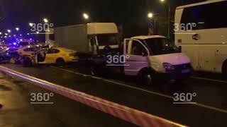 Массовое ДТП произошло в Москве. Погиб 1 человек