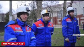 Специалисты компании «Чеченэнерго» провели масштабные учения