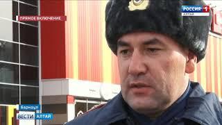 В Барнауле снова проверили безопасность ТЦ «Праздничный»