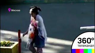 Убийство женщины экс-супругом в Москве попало на видео
