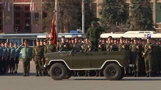 Военный парад отрепетировали с нареканиями