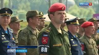 Выставка военной техники в Саранске