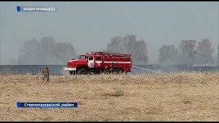 В Башкирии за сутки потушено 11 очагов природных пожаров