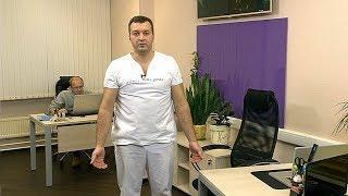 Спортивный инструктор из Ханты-Мансийска показал упражнения для снятия болей в позвоночнике