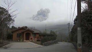 Опасный вулкан Симмоэ