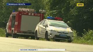 Смертельна аварія сталася вранці на Вінничині: призвідник ДТП помер на місці