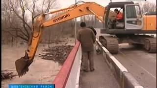 Из за сильных дождей  в Адыгее поднимался уровень  рек Чехрак и Фарс