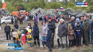 В канун Дня танкиста в Рубцовске прошли соревнования с участием спецтехники