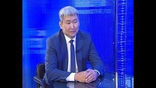 Гость в студии - Министр образования и науки Республики Бурятия, Баир Жалсанов