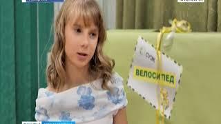 Воспитанникам детдомов Красноярского края вручили подарки и передали привет от Деда Мороза