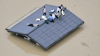 Ливни в Японии: десятки погибших