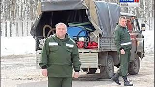 Лесоохрана готовится к непростому пожароопасному периоду (ГТРК Вятка)