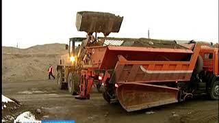 Дорожные службы Красноярска начали работать в круглосуточном режиме