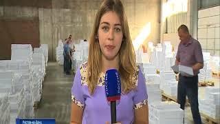 Почти 6,5 млн бюллетеней распределят по избирательным участкам Дона