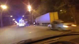 Skoda Yeti врезалась в фуру. Оренбург. май 2018.