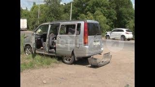 Пенсионер пострадал в ДТП с начинающим автолюбителем в Хабаровске. Mestoprotv