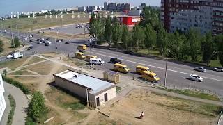 ДТП (авария г. Волжский) ул. Карбышева ул. Оломоуцкая 24-05-2018 9:14