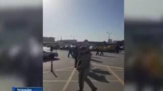 Эвакуация одного из гипермаркетов Ростова: покупатели растерялись