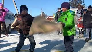 Масленичными гуляниями проводили зиму на округе №15 Биробиджана(РИА Биробиджан)