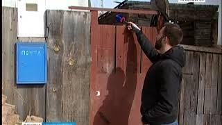 В микрорайоне Николаевка сгорели два дома