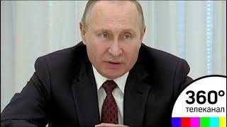 Владимир Путин встретился с кандидатами в президенты России