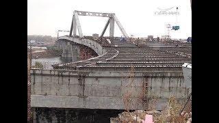 Надвижка Фрунзенского моста в Самаре завершена полностью