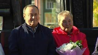В Урае поздравили «золотые» пары