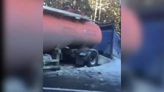 На трассе Москва — Архангельск столкнулись три автомобиля