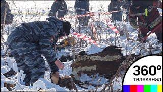 МЧС: работы на месте крушения Ан-148 продолжаются