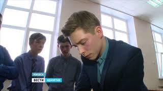 Ученики ижевской школы №27 представили свои изобретения Александру Свинину