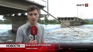 Забайкальцы рассказали ЗабТВ о том, как рухнул мост