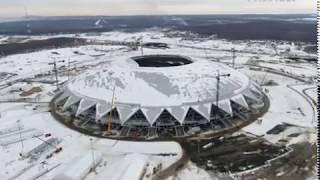 """Укладку газона на стадионе """"Самара Арена"""" перенесли на апрель из-за морозов"""