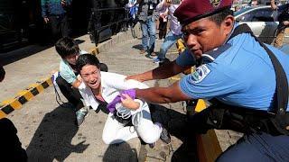 Аресты в Никарагуа