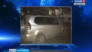 Штормовой ветер в Новосибирске срывал кровли и валил деревья на автомобили