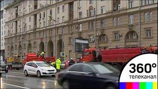 В центре Москвы провалился грунт - СМИ2