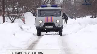 В Белгороде готовятся к половодью - спасатели отрабатывают порядок действий